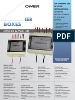 OmniPower Combiner Boxes for Solar