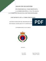 TFM - Importancia de La Formación Profesional en Restauración