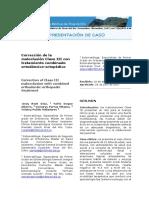 Corrección de la maloclusión Clase III con tratamiento combinado ortodóncico-ortopédico