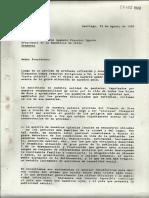 Carta Abierta a Augusto Pinochet (1986)