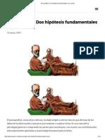 Dos Hipotesis Fundamentales Del Psicoanalisis.