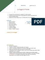La Legge Di Hooke N.8