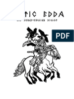 Poetic Edda (Old Norse-English diglot)