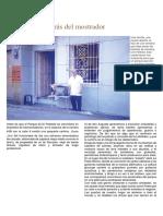 Artículo Francisco Saldarriaga. Confesiones detrás del mostrador