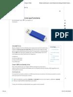 USB Booteable Con DD