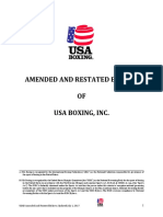 FINAL USA Boxing Amended and Restated Bylaws Rev 7117