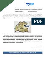 Comunicado Departamental Nº 1 Año 2019 SORIANO
