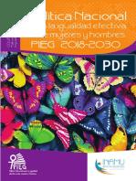 Política Nacional para la igualdad efectiva entre hombres y mujeres - PIEG 2018-2030.pdf