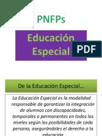 2.PNFP Presentación- Educación Especial