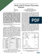 Ecg Feature Extraction Methods