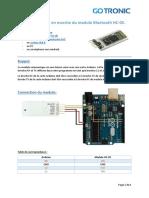 Pj2 Guide de Mise en Marche Du Module Bluetooth Hc 1546