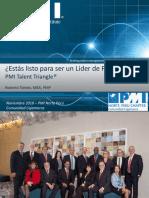 ¿Estás listo para ser un líder de proyecto PMI's Talent Triangle® - Roberto Toledo.pptx
