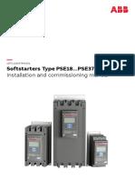 Manual da Soft Starter da ABB modelo PSE 300