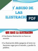Uso y Abuso de Las Ilustraciones
