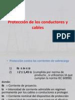 Protección de Los Conductores y Cables
