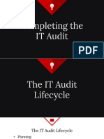 Completing the IT Audit
