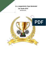 Reglamento y Juzgamiento Copa Santander 2019