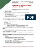 2eme Partie Chapitre 3 Demarche Dorganisation Dune Activite