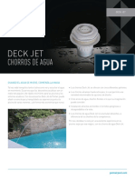Deck Jet Water Effect Spanish