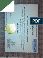 Certificación Six Sigma