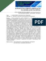 O Risco Biológico e sua Regulamentação na Legislação Nacional