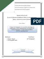 L'impact de l'intégration des nouvelles technologies de l'information et de la communication sur la gestion des ressources humaines.pdf