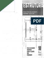 Revista Técnica de Construcções Estrutura prof. Aderson 98