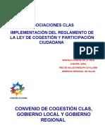 Convenio Cogestion RSAC 2009