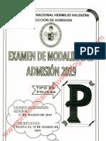Admisión UNHEVAL MODALIDAD 2019 -Profewilliamsdavila