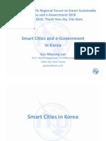Smart City & E-Government in Korea