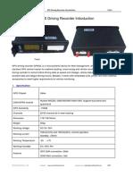Vehicle Driving Recorder GP600L Introduction-V14