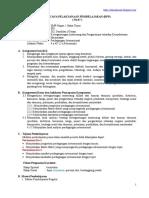 RPP IPS Kelas 9 Perdagangan Internasional