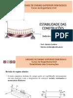 AULA Estabilidade - Deflexão de Vigas