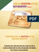 Historia de La Cocina en El Renacimiento La Que Es.