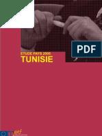 étude pays tunisie 2005