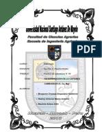 Practica N 05- Densidad Aparente y Densidad Real Del Suelo