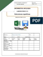 Lab 14 Estructuras Repetitivas