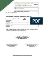 Anexo 9. Matriz de Evaluación Por El Coord. Prácticas