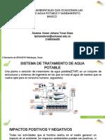 Diapositivas Impactos Ambientales de El Sistema de Agua Potable y Saneamiento Basico