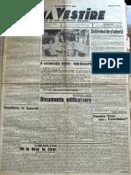 Buna Vestire anul I, nr. 84, 5 iunie 1937