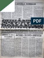Cuvantul Romanesc anul 5, nr. 55, noiembrie 1980
