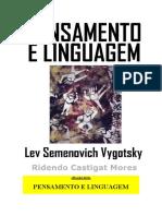 Livro Vygotsky Sobre Pensamento e Linguagem