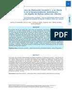 Estudio Fitoquimico De Plukenetia Volubilis