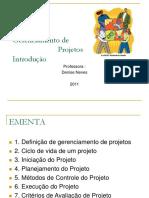 Gestão de Projetos_Introduçao