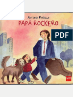 Libro Papá Rockero