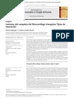 Lesiones del complejo del fibrocartílago triangular. .pdf