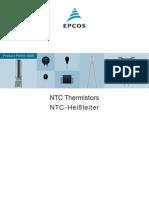 Thermistors(EPCOS)