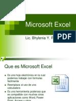 Introduccion a Microsoft Excel