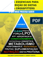 Pilares Essenciais Para a Prescricao de Dietas Para Crossfitter