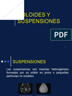 Coloides y Suspensiones